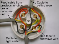 2 Way Switch Wiring Diagram Fig 1 Two One Way Lighting Junction Box