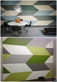 Geometric Wall Paint Designs | www.imgkid.com - The Image ...