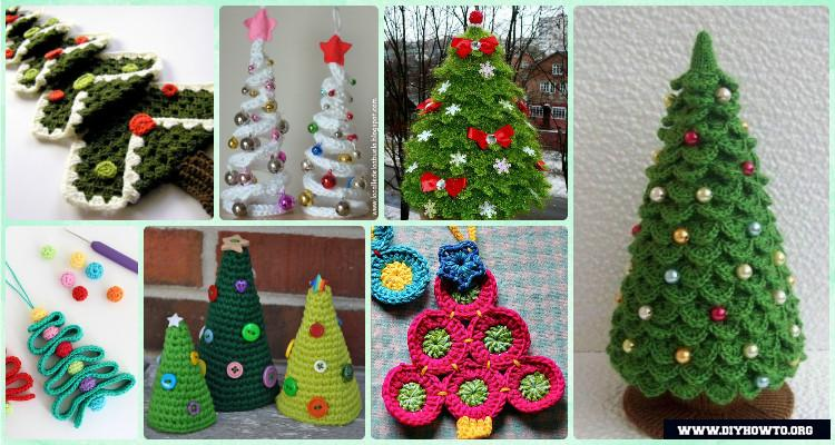 Crochet Christmas Tree Free Patterns for Holiday Decoration - free christmas tree templates
