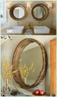 DIY Decorative Mirror Frame Ideas and Projects [Picture ...