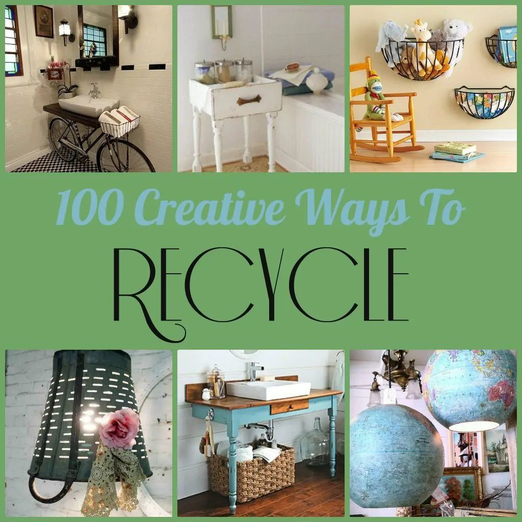 and home d cor and organization ideas some are quite simple and some will take some diy experience here are 100 creative ways to recycle here we go