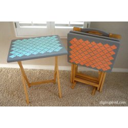 Small Crop Of Tv Tray Tables