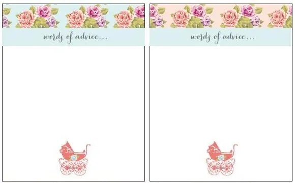 Vintage Baby Shower Free Printables - DIY Inspired