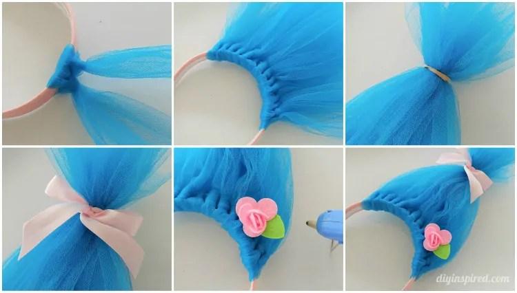 Diy Troll Hair Headbands Diy Inspired