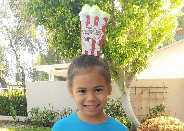 Popcorn Crazy Hair Day Idea Diy Inspired