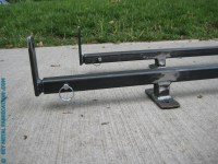 How to Build  SUV Ladder Roof Rack  DIY METAL ...