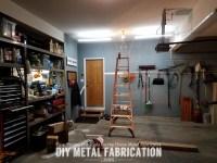 DIY  How to Install LED Garage Lighting  DIY METAL ...