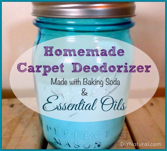 Baking Soda Carpet Cleaner / Deodorizer With Essential Oils