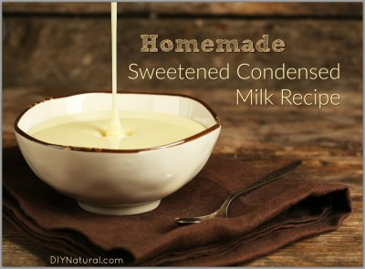 Homemade Sweetened Condensed Milk: Naturally Sweetened