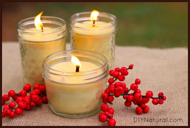 How To Make Candles - Natural Beeswax Candles