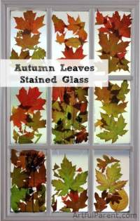 15 Fabulous Fall Leaf Crafts for Kids - DIY & Crafts