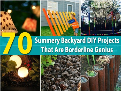 Medium Of Diy Backyard Patio Projects