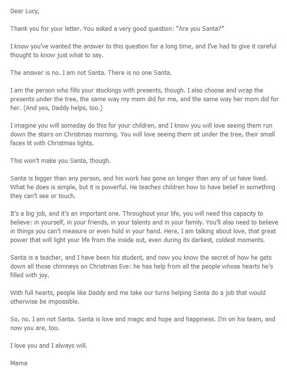 4 Heartwarming Letters to Explain Santa to Your Kids - DIY  Crafts