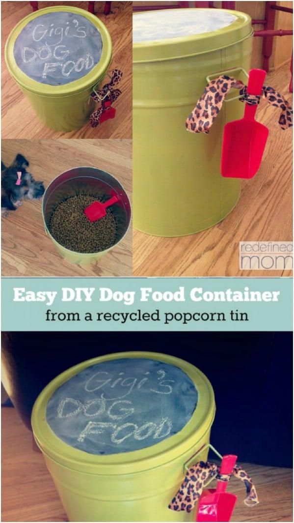 20 Crazy Creative Popcorn Tin Repurposing Projects Diy