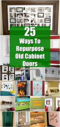 25 DIY Projects Made From Old Cabinet Doors  Its Time To ...