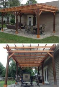 20 DIY Pergolas With Free Plans That You Can Make This ...