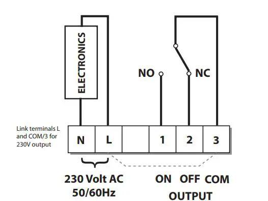 wiring diagram for danfoss fridge thermostat
