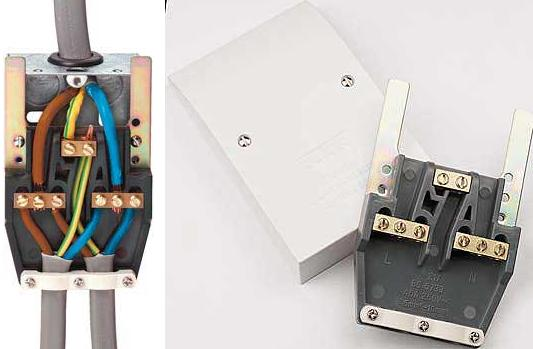 double handle fuse box