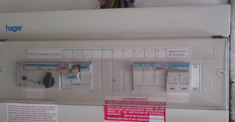 buss fuse box replacement