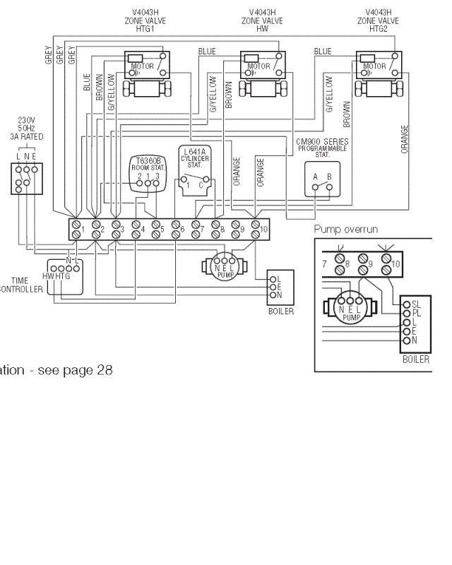 honeywell s plan plus wiring diagram