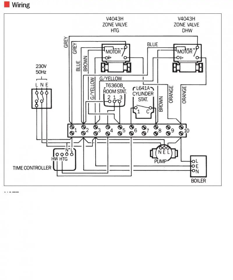 myson motorised valve wiring diagram