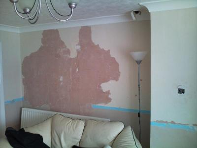 lining paper over cracked paint? | DIYnot Forums