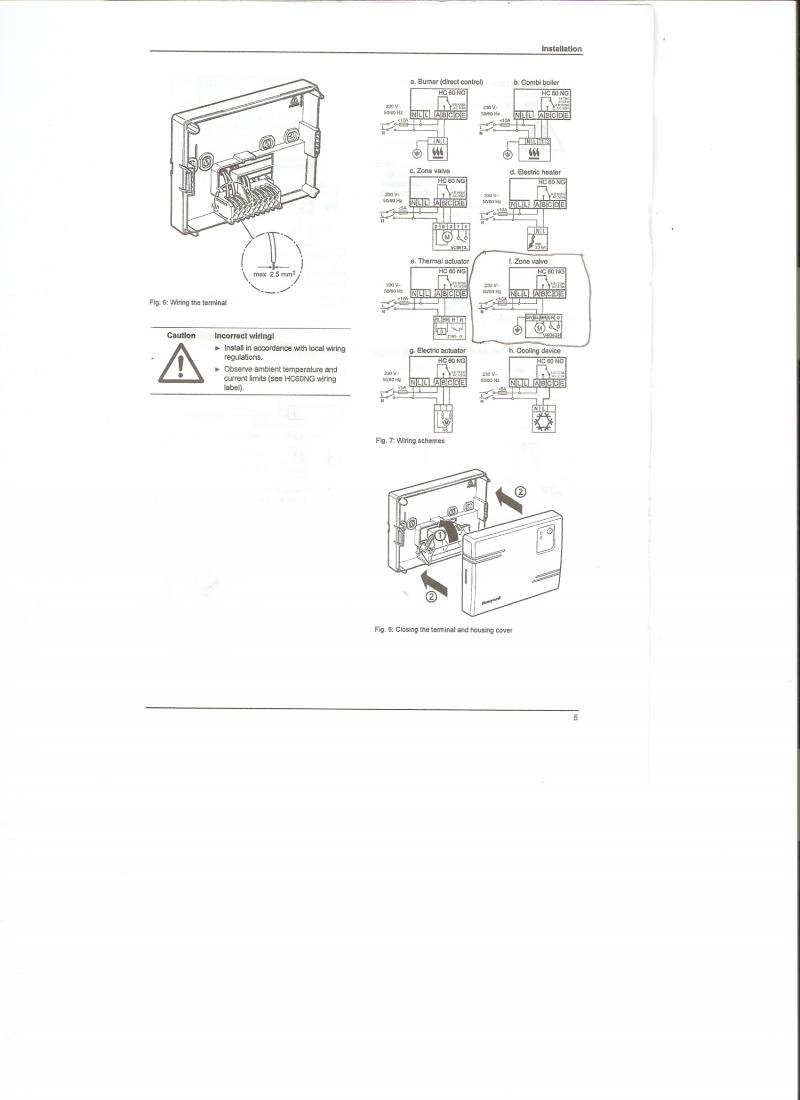 honeywell wiring diagram s plan plus central heating controls and