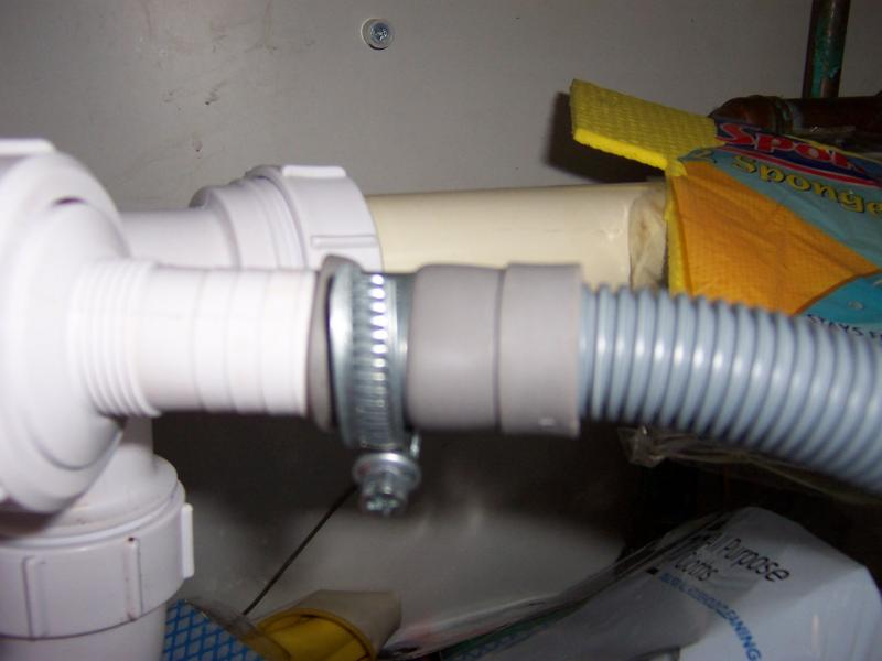Waste Pipe From Washing Machine Help Please Diynot