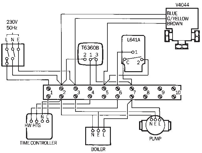 electrical diagram heat pump