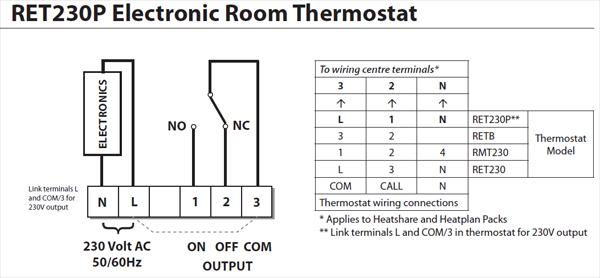 danfoss room stat wiring diagram advice on replacing central