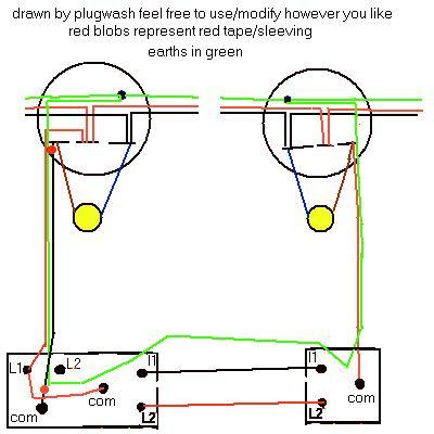 110 Block Enclosure Wiring Diagram Electrics Two Way Lighting
