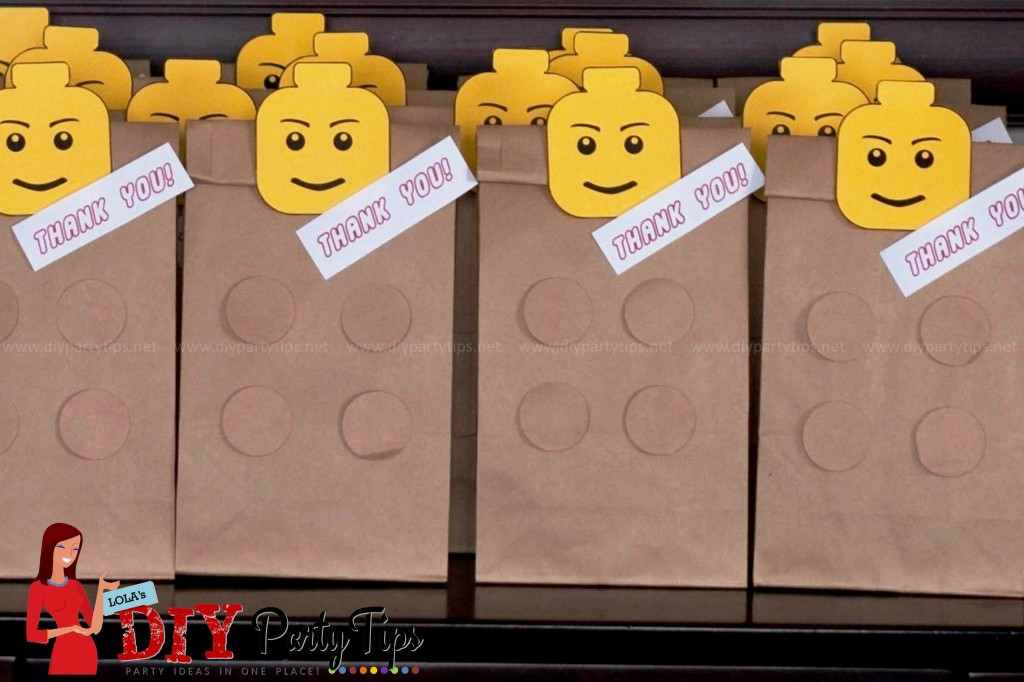 FREE PRINTABLE Lego Party Lootbags \u2013 Lola\u0027s DIY Party Tips