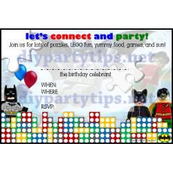 Small Crop Of Lego Birthday Invitations