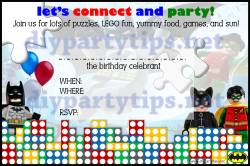 Marvelous Lego Birthday Invitation Template Diy Party Tips Watermark Free Lego Party Invitation Diy Party Tips Lego Birthday Invitation Ecard Lego Birthday Invitations Templates