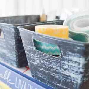 Patina Plastic Bins