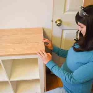 Wood Clad Shelf