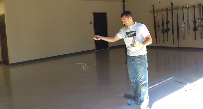 Diy Epoxy Garage Floor Coating