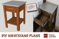 DIY Nightstand | Plans | Concrete Nightstand