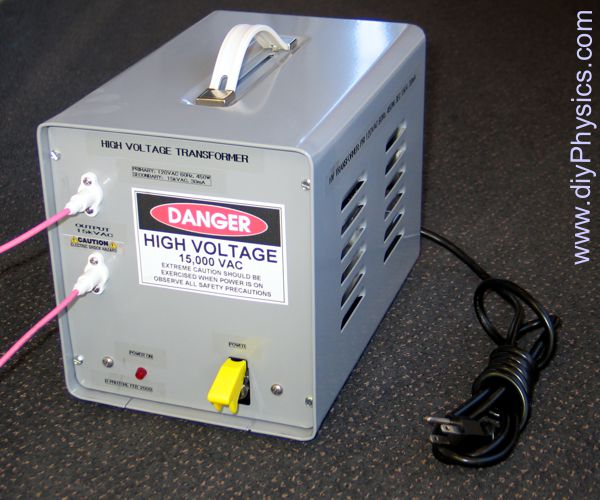 diy 15 kV @ 30 mA Floating-Output AC or DC High-Voltage Power