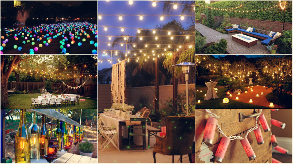 10 diy outdoor party lighting ideas diy smartly