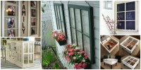 DIY Decorating Ideas Using Old Windows for Home | Diy Smartly
