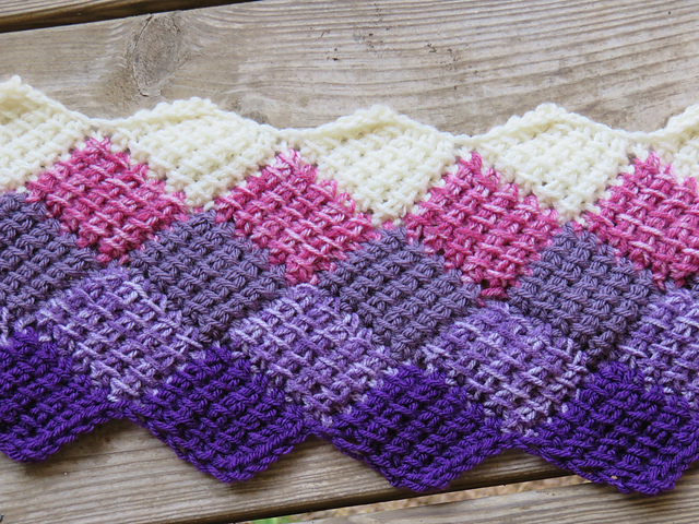Entrelac Afghan Knitting Pattern Choice Image Knitting