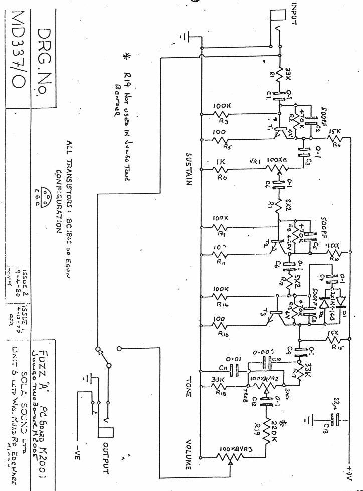 flanger guitar effect diagrams