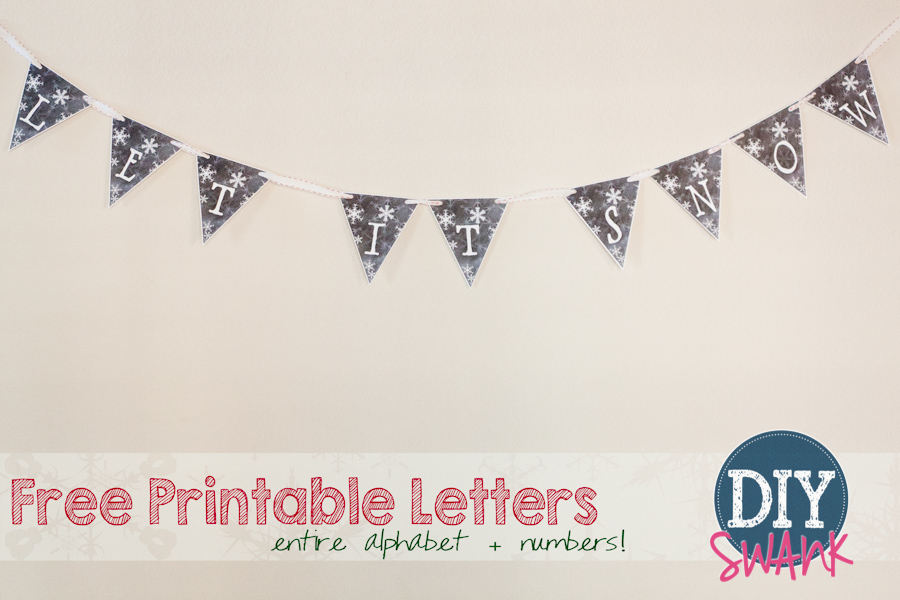 Banner Letters Archives DIY SWANK