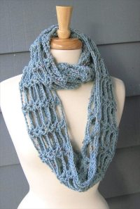 32 Super Easy Crochet Infinity Scarf ideas