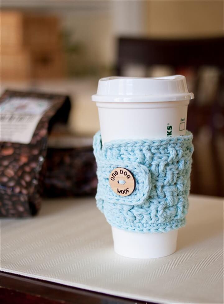 Cute Coffee Mug Wallpaper 20 Cool Crochet Coffee Cozy Ideas Amp Tutorials Diy To Make