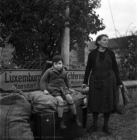 Som et apropos til Europa i dag. Flygninge i Luxembourg 1945