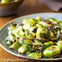 Easy Roasted Brussels Sprouts