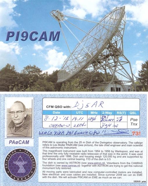 PI9CAM QSL
