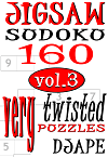 Jigsaw_Sudoku, 160 very twisted_puzzles, volume 3